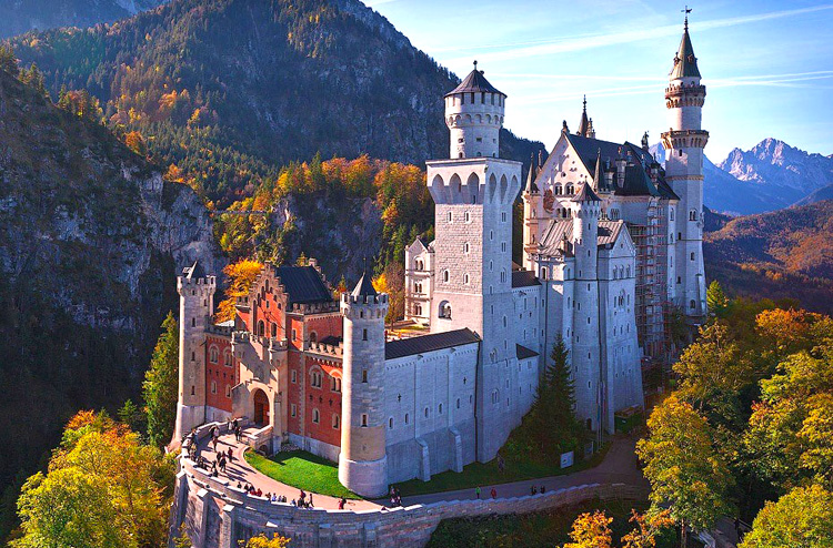 Dvorci Bavarske putovanja 2019