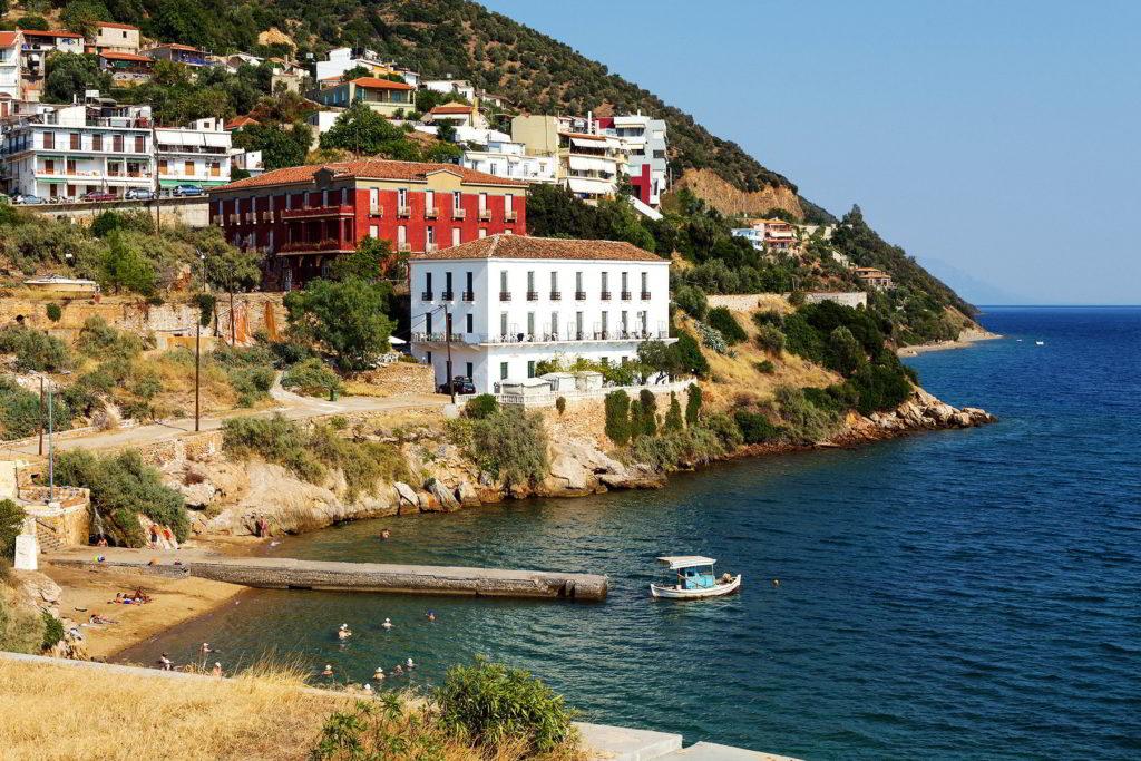Evia – Edipsos apartmani leto 2019